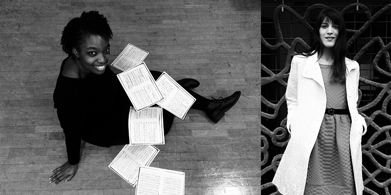 Axelle FANYO, soprano Louise AKILI, piano