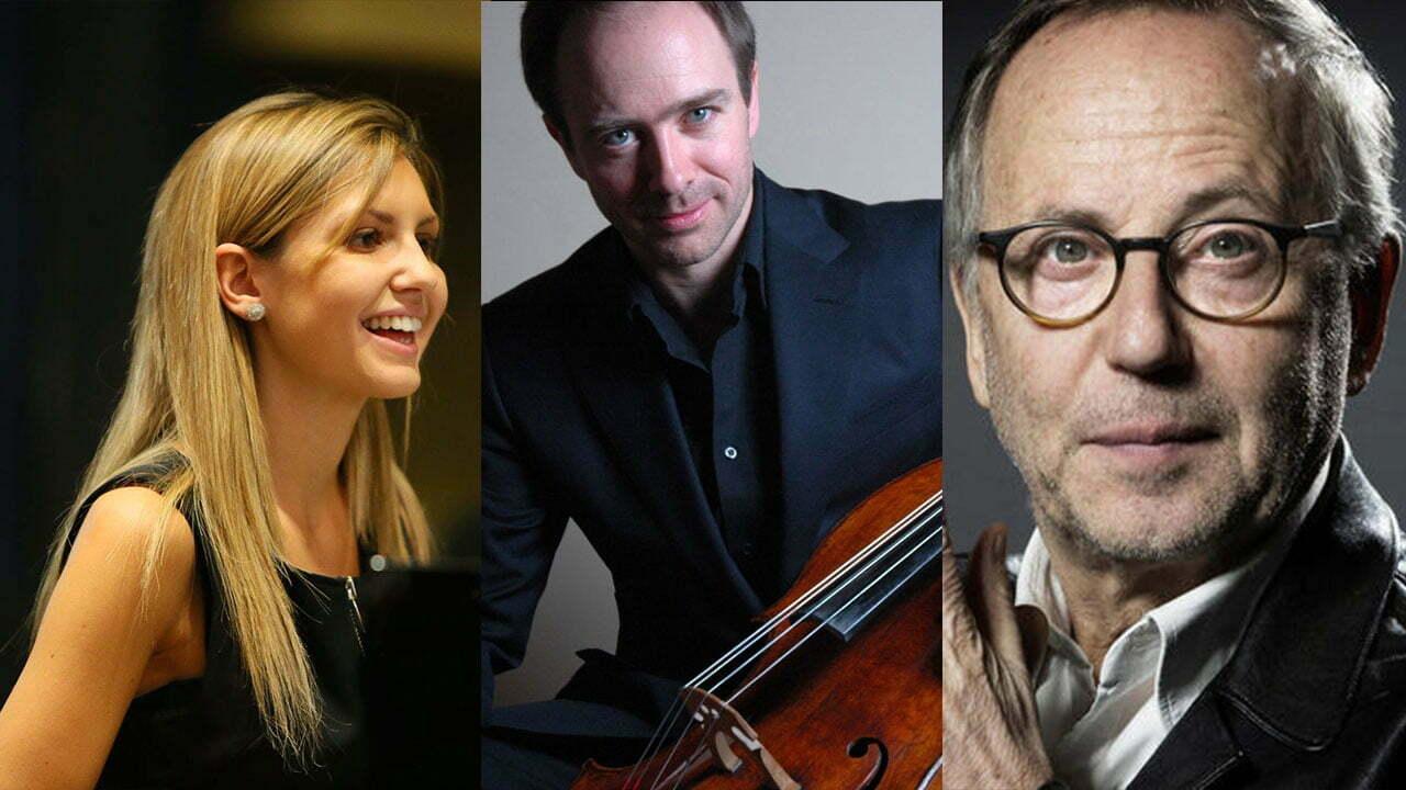 FABRICE LUCHINI, comédien Henri DEMARQUETTE, violoncelle Vanessa BENELLI-MOSELL, piano