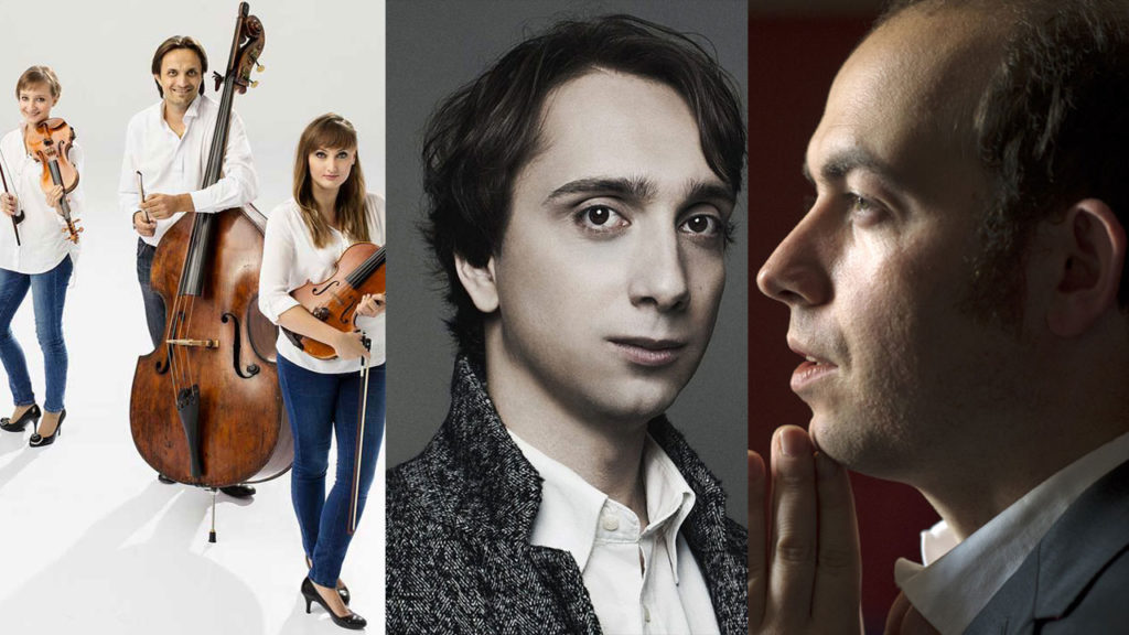 FRANCOIS DUMONT, PIANO MIROSLAV KULTYSHEV, PIANO  LES SOLISTES DU SINFONIA VARSOVIA, QUINTETTE À CORDES