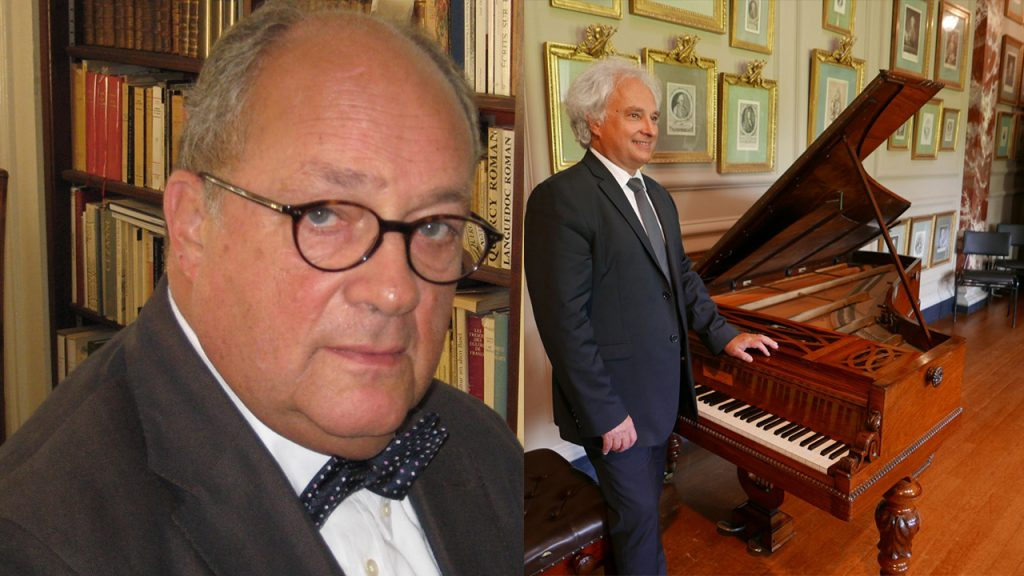 Jean-Jacques EIGELDINGER, musicologue Yves HENRY, piano