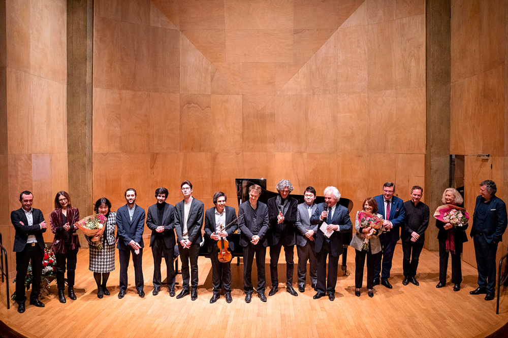 Salle Cortot: présentation d'une partie des jeunes talents invités au Nohant Festival Chopin 2020