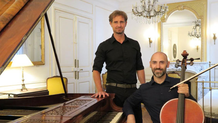 Edoardo TORBIANELLI, piano Pleyel 1846 Fernando CAIDA-GRECO, violoncelle